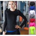 Dry Fit Compression Langarmhemd für Frauen
