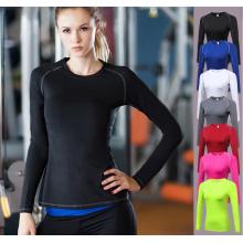Chemise à manches longues Dry Fit Compression pour femme
