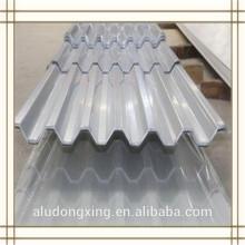 1100 hoja de aluminio corrugado