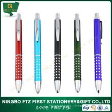 Первые A006 блестящие точки Retractable Metal Pen для продвижения