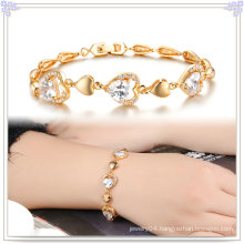 Copper Bracelet Fashion Accessories Crystal Jewelry (AB276)