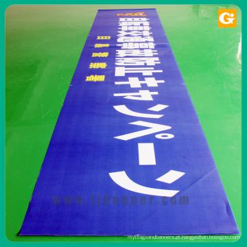 Cartaz de bandeira de malha durável profissional malha pvc banner