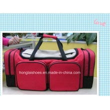 Red Sport Fitness Outdoor Duffel Reisetaschen