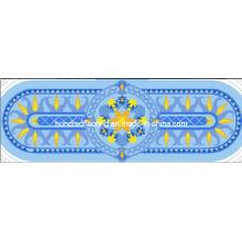 Mosaïque en verre Design de motif Mosaïque de piscine (HMP783)