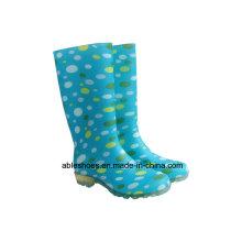 ПВХ Резиновые сапоги для женщин, леди дождя сапоги