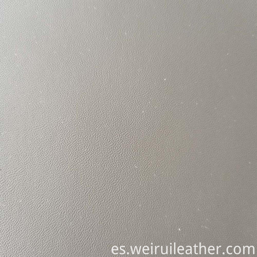 Fine Grained Pvc Leather