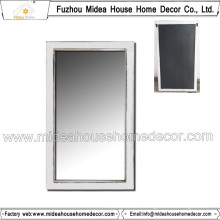 European Style Decorative Antique Wooden Bedroom Wall Mirror