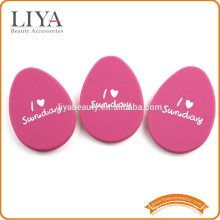 OEM яйцо формы частных ярлык красоты Губка слоеного multi цвета