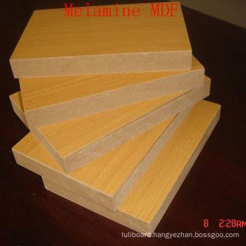 Middle Density Fiber Board Plain or Melamine
