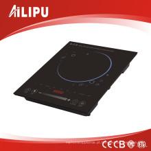 Fogão de Indução Deslizante de Controle de Toque com Display LED