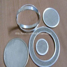 Micron Stainless Steel Filter Mesh Disc
