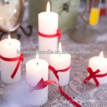 Huaming dekoriert Kerzen in verschiedenen Farbe / Großhandel White Pillar Kerzen / weiße Säule Kirche Kerzen