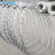 Jualan Hot Razor Barbed Wire Price Per Roll