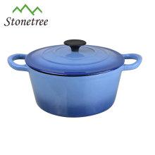cast iron enamel kitchen cookware