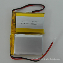 Li-Po Batterie 3.7V 1800mAh 103450 Li-Ion Akku Lithium-Polymer Akku