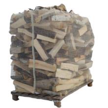 1 Ton Cheap Wholesale Breathable Firewood Bulk Mesh PP Big Bag For Packing Wood Bulk Drawstring Ventilated Firewood Bags