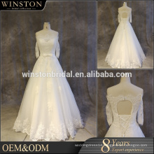 real pictures wedding dress china