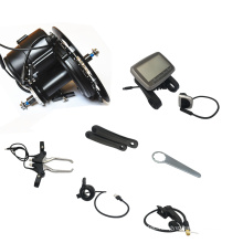 Central engine electric bicycle conversion kit 36V 500W mid drive motor e bike kit