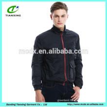 New design Dark Navy color casual outdoor wear mens jackets