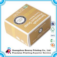 Custom paper face cream soap packaging box
