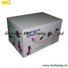 Подгонянная стойка дисплея, Дисплей рабочий стол бумага, конфеты стойка дисплея картона, гофрированного Дисплей, POS Дисплей, картон Дисплей, расположенный ярусами полка дисплея (B и C-С26)