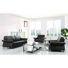 Beliebte Ledersofa Bürostühle Rezeption Sofa (DX533)