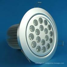 Downlights à DEL haute puissance 18W