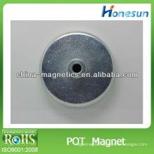 strong hook magnet/ pot magnets holder screwed hole
