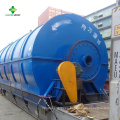 Planta de Pirólisis de Plástico a Combustible con Tecnología de Conversión Avanzada