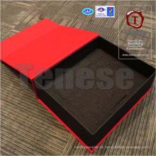 Caixa de presente de embalagem assorted personalizada com incrustação