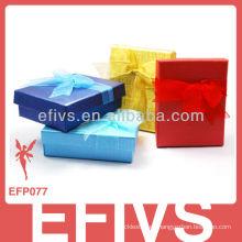 Pequeñas cajas de regalo baratos de la joyería de papel al por mayor