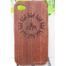 Nouveaux produits innovants Housses et étuis pour téléphones mobiles en bois et diamant