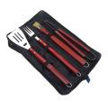 4 Stück Edelstahl Grill Grill Werkzeuge Set