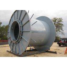 Carrete de cable de acero reforzado industrial con calidad superior