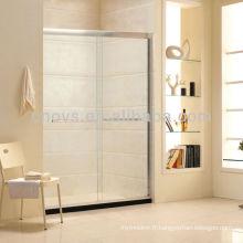 panneau de douche en verre de sécurité de meilleur prix