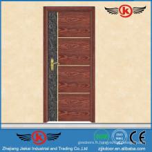 JK-PU9401 La dernière conception en bois de portes simples en bois