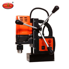 Portable electric magnetic steel plate drill machine