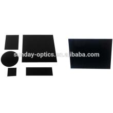 Filtre en verre infrarouge infrarouge optique HWB760 HWB800 HWB900 HWB930