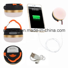 Rechargeable R5 LED Magnetic Portable Hiking Camping Tent Lantern Light USB Lamp
