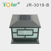 lumières solaires extérieures décoratives, lampe murale solaire, lumière solaire pilier CE RoHS