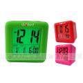 Portable Silikon Digtal LCD Kalender mit Alarm und Snooze Funktionen (LC979)
