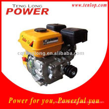 China OHV motor a gasolina 6.5 HP, Motor de gasolina com redutor