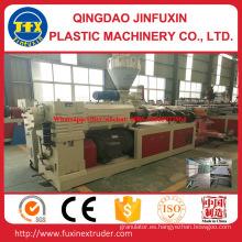Tablero de la espuma de la corteza de la construcción del PVC que hace la máquina