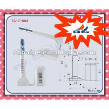 parafuso de vedação BG-Z-008, ISO / PAS 17712: 2006 (E) Vedação de segurança de uso único, selo inviolável, trava de parafuso