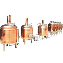 Germany standard beer brewing equipment 300L red copper beer making equipment