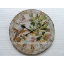 Красивые художественные античные декоративные металлические настенные часы