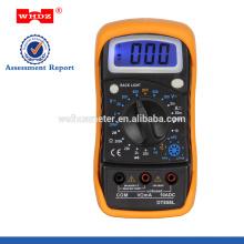 Multímetro digital DT858L con temperatura de retroiluminación