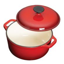 Low price for cast iron soup pot/casserole/wok