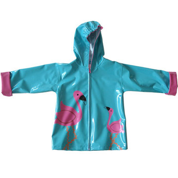Kids Lovely PU Rainwear