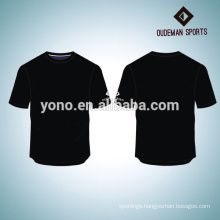 Custom printing free logo and number men's t shirt